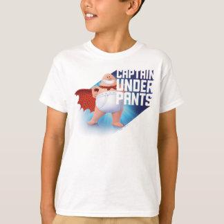 Bund-Krieger Kapitän-Underpants | auf Dach T-Shirt
