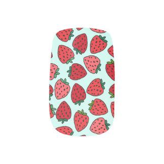 Bündel Erdbeeren - Nagel-Kunst Minx Nagelkunst