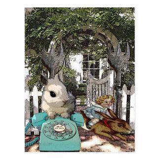 """""""Bunnygate """" Postkarte"""