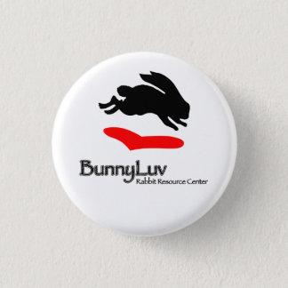BunnyLuv Logo-Knopf Runder Button 3,2 Cm