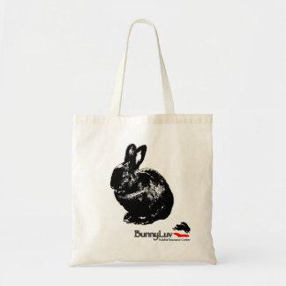 BunnyLuv Taschen-Tasche, die Ophelia kennzeichnet Budget Stoffbeutel