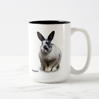 BunnyLuv Tasse, die Bogart kennzeichnet Zweifarbige Tasse