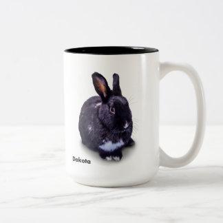 BunnyLuv Tasse, die Dakota kennzeichnet Zweifarbige Tasse