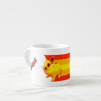 BunnyLuv Tasse, die Flecken kennzeichnet Espressotasse