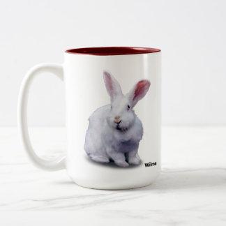 BunnyLuv Tasse, die Wilma kennzeichnet Zweifarbige Tasse
