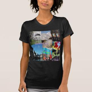 Bunte Bilder von der Schweiz durch Celeste Sheffey T-Shirt