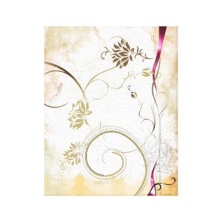 bunte Blumen-Leinwand Leinwanddruck