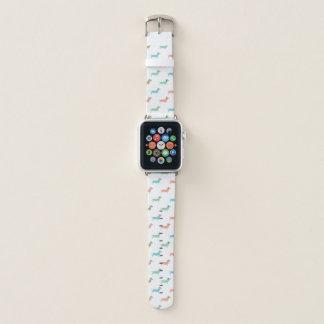 Bunte Dackel Apple Watch Armband