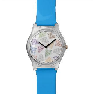 Bunte Diamanten für meinen Schatz Armbanduhr