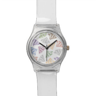 Bunte Diamanten für meinen Schatz Uhr