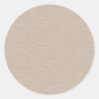 Bunte einfache Muster - fertigen Sie besonders an, Runder Aufkleber