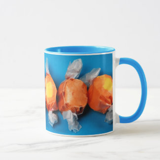 Bunte eingewickelte Taffydruck-Kaffee-Tasse Tasse