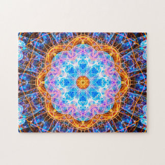 Bunte Energie-Mandala entspannendes |