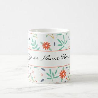 Bunte Frühlings-Blumen, die Thema Wedding sind Tasse