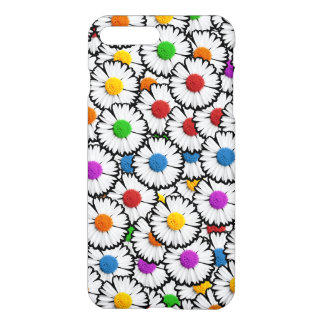 Bunte Gänseblümchen iPhone 7 Plus Hülle