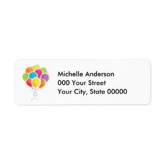 Bunte Geburtstags-Ballone