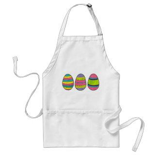 Bunte gemalte glückliche Osterei-Jagd Eggs Schürze
