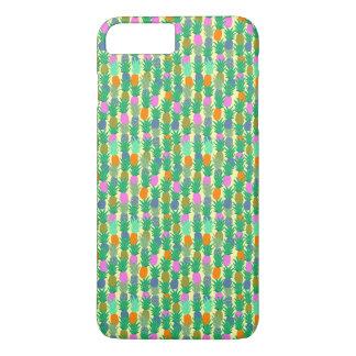 Bunte hawaiische Ananas iPhone 8 Plus/7 Plus Hülle