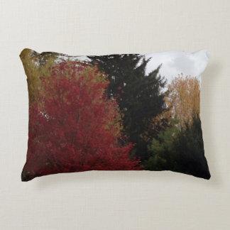 Bunte Herbst-Baum-Foto-Akzent-Kissen Dekokissen