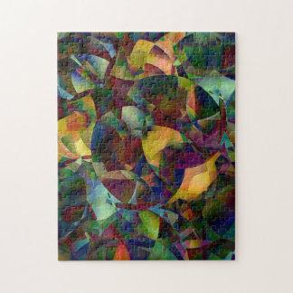 Bunte, kaleidoskopische abstrakte Kunst
