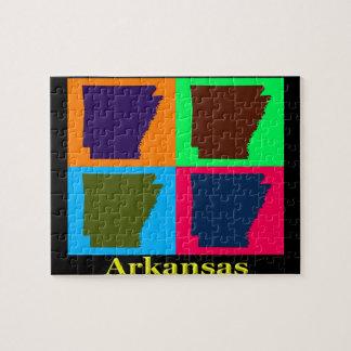 Bunte Karte Arkansas