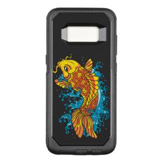 Bunte Koi Fische OtterBox Commuter Samsung Galaxy S8 Hülle