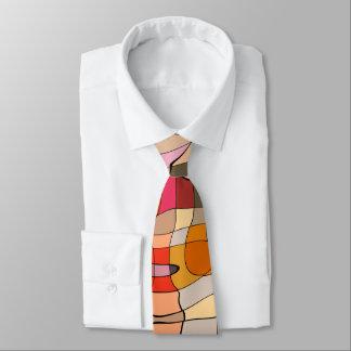 Bunte Krawatte