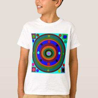Bunte Kreise T-Shirt