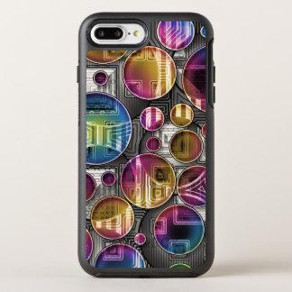 Bunte Kugeln - abstrakte Kunst OtterBox Symmetry iPhone 7 Plus Hülle