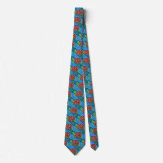 Bunte künstlerische krawatte
