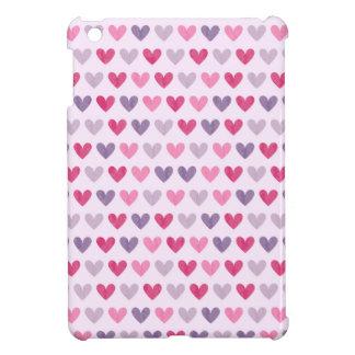 Bunte niedliche Herzen II iPad Mini Hülle