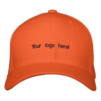 Bunte orange Kappe