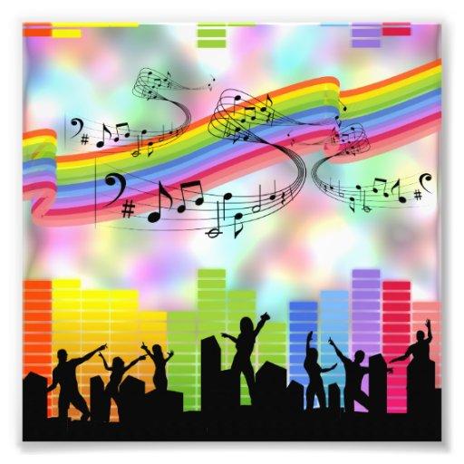 Bunte Party-Musik Photo