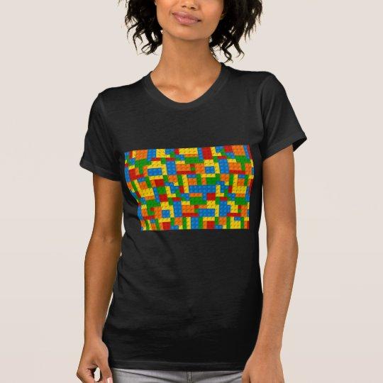 bunte Plastikblöcke T-Shirt
