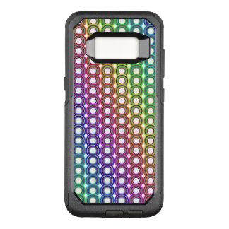 Bunte Retro Kreise OtterBox Commuter Samsung Galaxy S8 Hülle