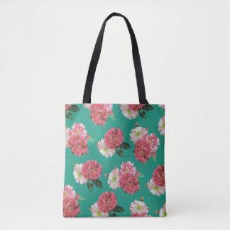 bunte schöne Rosen-Blumen-Taschentasche Tasche
