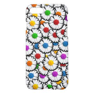 Bunte Super-auferlegte Gänseblümchen in den iPhone 7 Hülle