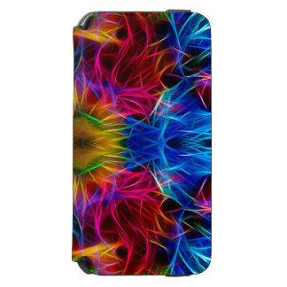 Bunter abstrakter Muster-Kasten Incipio Watson™ iPhone 6 Geldbörsen Hülle
