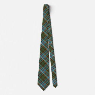 Bunter Andersontartan-karierte Hals-Krawatte Bedruckte Krawatte