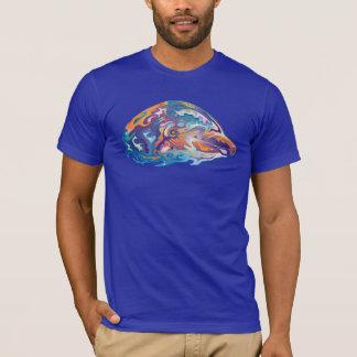 Bunter Delphin T-Shirt