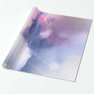 """Bunter Himmel-glattes Packpapier, 30"""" x 6' Geschenkpapier"""