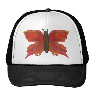 Bunter hübscher Schmetterlings-Hut Truckerkappe