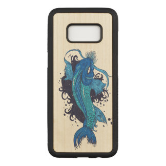 Bunter Japaner Koi Carved Samsung Galaxy S8 Hülle