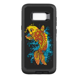 Bunter Japaner Koi OtterBox Defender Samsung Galaxy S8+ Hülle