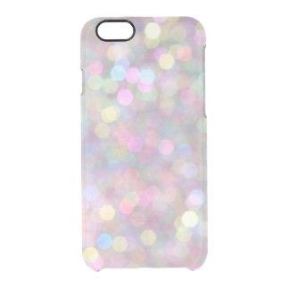 Bunter Lichter iPhone 6/6s Kasten Durchsichtige iPhone 6/6S Hülle