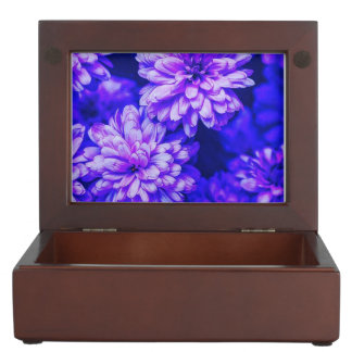 Bunter lila Vergnügens-Andenken-Kasten Erinnerungsdose