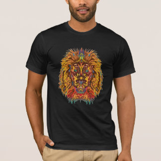 Bunter Löwe T-Shirt