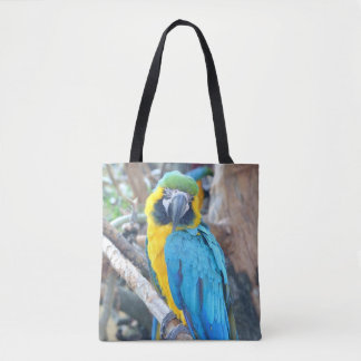 Bunter Macaw-Papagei Tasche