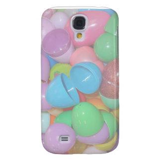 bunter Osterei-Pastellplastikhintergrund Galaxy S4 Hülle