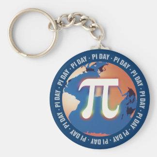 Bunter PU-Tag auf Erde - Mathe Keychains Schlüsselanhänger